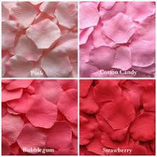 Real Rose Petals Pink Silk Rose Petals 13 Shades Of Pink Artificial Rose Petals