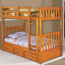 One Honey TwinTwin Bunk Bed One  Drawer Double Dresser And One - Double and twin bunk bed