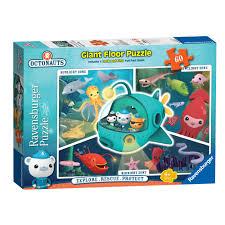 Floor Games by Ravensburger Octonauts 60 Piece Giant Floor Puzzle 10 00