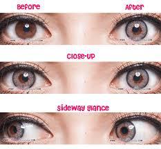 white eye contacts halloween g u0026g natural 3 tone grey circle lenses pinkyparadise