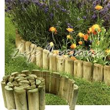 wood garden edging 25 best wooden garden edging ideas on pinterest
