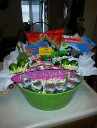 non food gift baskets diy margarita gift basket gift for a friend who has
