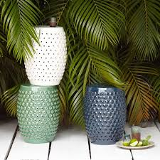 Patio Side Tables Home Design Outdoor Ceramic Table Impressive Side Tables