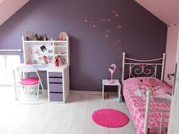 chambre à coucher violet peinture chambre fille mauve