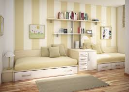 Laminate Floor Paint Neutral Cream Kids Room With Striped Wall Paint Accent Plus White