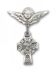view all cross crucifix baby pins catholic faith store