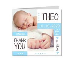baby thank you cards pretty baby boy baby thank you cards planet cards co uk