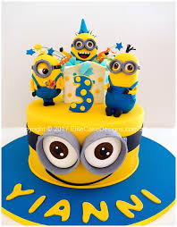 minions cake minions kids birthday cake in sydney exclusively designed by