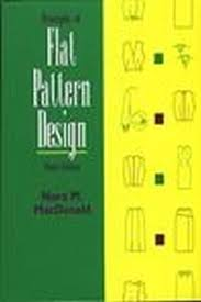 dress design draping and flat pattern principles of flat pattern design 3rd edition nora m macdonald