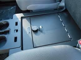 Gun Safe Bench 2015 2017 F150 Console Vault Gun Safe Under Front Middle Seat