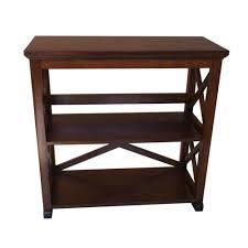 home decorators collection brexley 2 shelf bookcase in warm