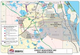 Greater Orlando Area Map by Orlando Florida City Map New Fl Roundtripticket Me