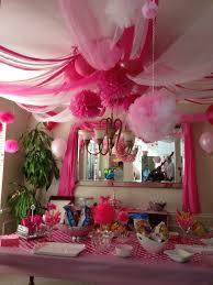 Party Chandelier Decoration by Pink Party
