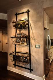 appliances amazing black kitchen hanging baskets with cream