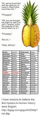Ananas Pineapple Meme - 25 best memes about yiddish yiddish memes