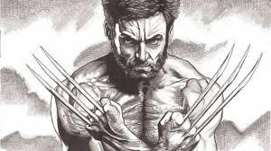wolverine pencil sketch hugh jackman pencil drawing google