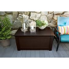 rubbermaid bench with storage rubbermaid patio chic storage bench deck box target