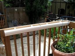 vinyl deck railing planters white vinyl deck railing for elegant