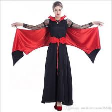 Halloween Vampire Costumes 2017 Arrival Vampire Costumes Black Red Cosplay Halloween