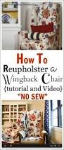 How Much Does It Cost To Reupholster A Chair Reupholstering A Recliner Chair It Only Cost 20 00 Furniture