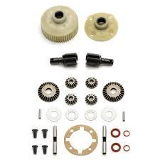 team associated associated complete gear differential sc10 ascc9827