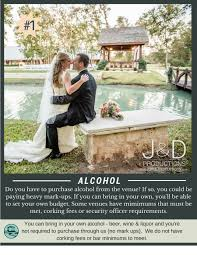 top 10 hidden wedding venue fees the springs events