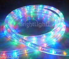 Christmas Rope Light Outdoor by Outdoor Christmas Rope Lights Ebay