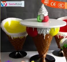 ice cream table and chairs china ice cream table and chairs sets fiberglass ice cream cone