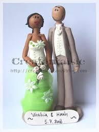 figurine mariage mixte figurine pour gateau mariage mixte votre heureux