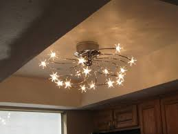 Kitchen Fan Light Fixtures Chandeliers Design Magnificent Ceiling Fan With Candles Candle