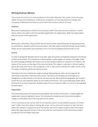 how to write a memoformal memo finance department coso