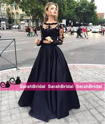 crop top and long skirt formal dress ala