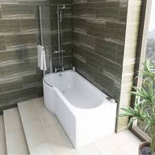 mode tate bathroom suite with left handed p shaped shower bath mode tate bathroom suite with left handed p shaped shower bath