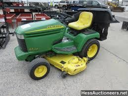 used john deere gx345 lawn mower for sale in pa 23540