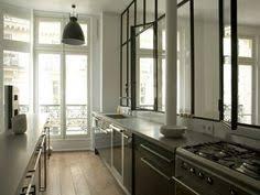 separation verriere cuisine fenêtre d atelier en séparation de cuisine salon design