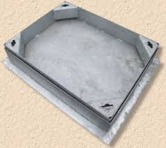 pavingexpert recessed tray covers for manholes and inspection