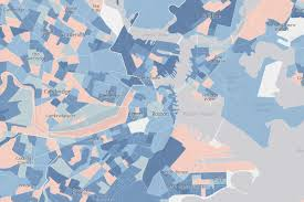 Map Room Boston by Boston U0027s Fastest Growing Neighborhoods Mapped Curbed Boston