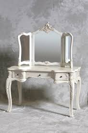 Vanity Makeup Desk With Mirror Vintage Vanity Table Accessories Apartment Living Pinterest