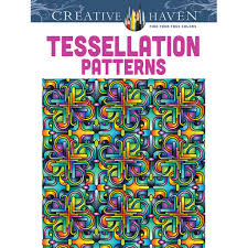 creative coloring books creative haven tessellation patterns coloring book