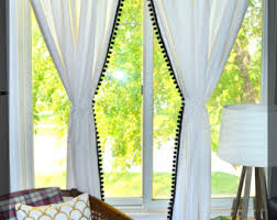 curtains pom curtain decorating best 20 white ideas on pinterest