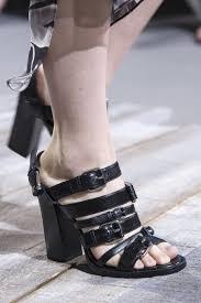 spring 2018 shoe trends shoe runway trends spring 2018