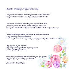wedding blessing the apache wedding blessing version drawing by celestial images