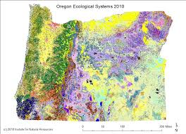 map of oregon state maps institute for resources oregon state