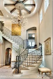 Winding Staircase Design The Two Story Entrance Is Dominated By The Winding Staircase