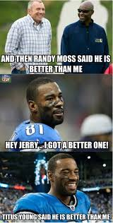 Calvin Johnson Meme - nfl memes on twitter calvin johnson and jerry rice share a laugh