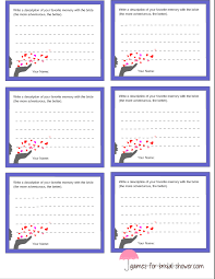 free printable memory with the bride game cards