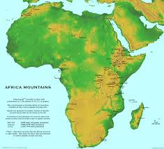 Large World Maps by Large Detailed Africa Mountains Map Africa Mapsland Maps Of