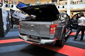 mitsubishi pickup 2005 mitsubishi triton pickup gets enhanced warranty and features