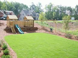 Wood Backyard Playsets by Backyard Playground Hand Crafted Wooden Playsets Gallery