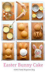 nothing says happy easter or spring like a bunny cake just follow